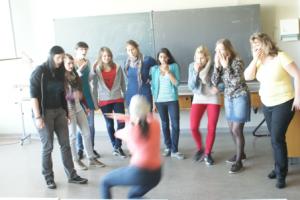 Strassenszene im Unterricht
