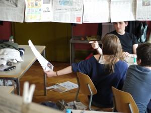 Redaktion im Klassenzimmer