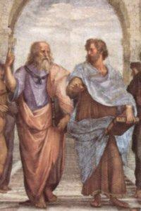 Platon und Aristoteles in Raffaels 'Schule von Athen'